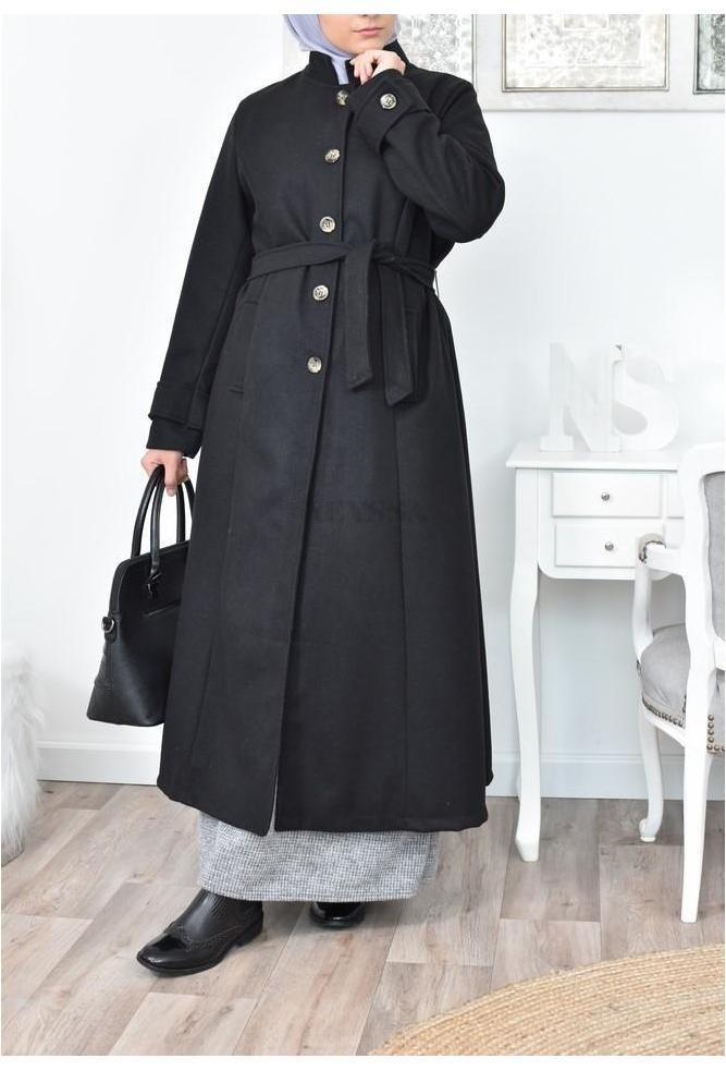 Manteau long grande taille pas cher