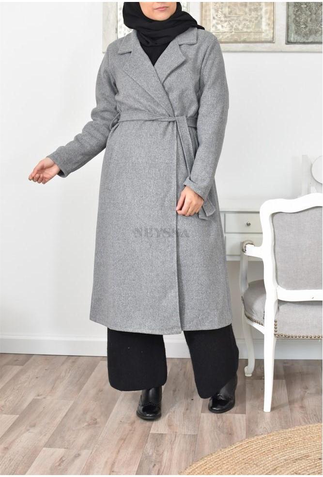 Manteau long femme musulmane grande taille