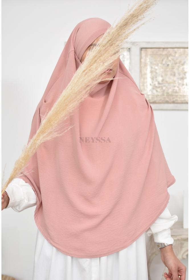 Khimar court à nouer façon jilbab