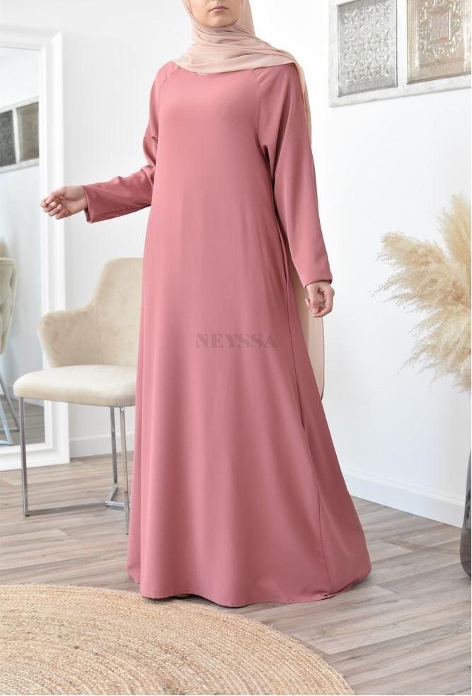 Longue abaya évasée fluide Modest Fashion