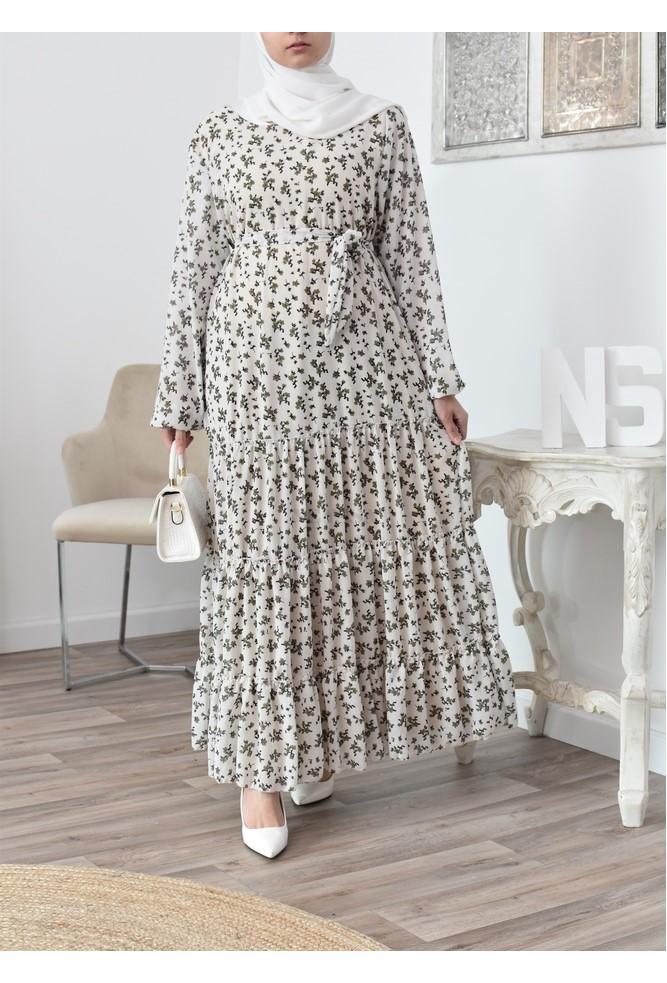 Maxi Bohemian dress chic floral