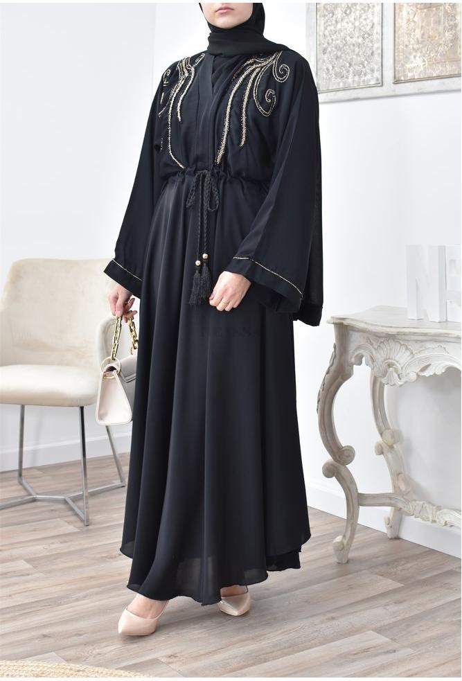 Abaya Umbrella longue et évasée