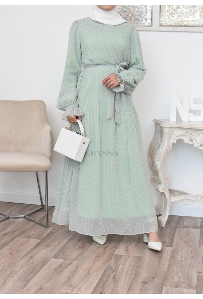 Flared Ziyâa dress