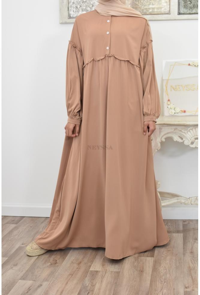 Abaya loose fluid light cape jilbab