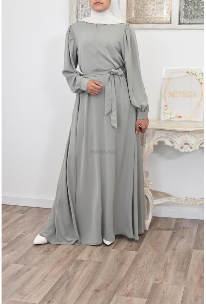 Robe longue évasée fluide Neyssa Shop