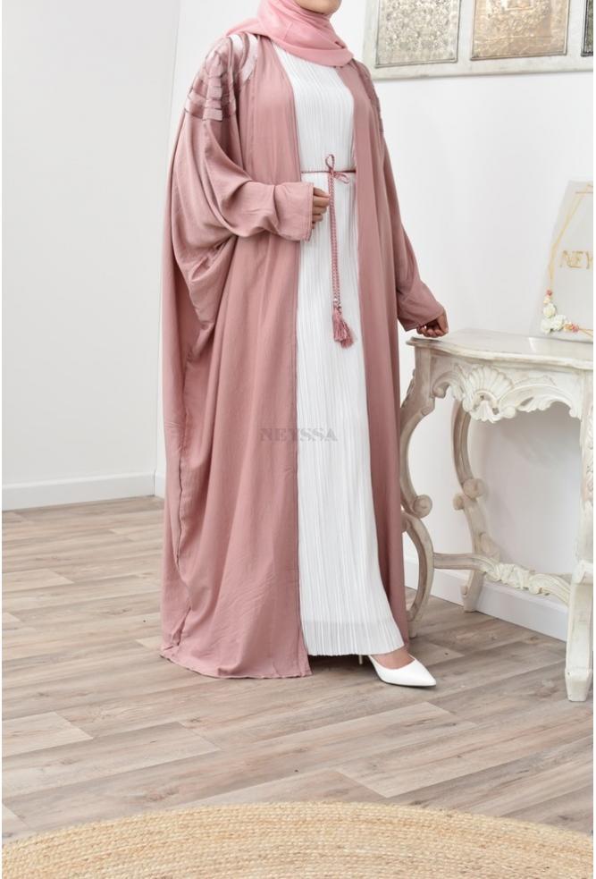 Long Flared Kimono for veiled Muslim women