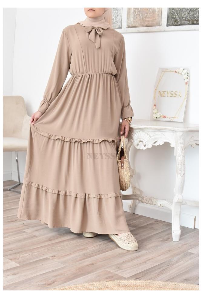 bohemian dress Loose-fitting for Muslim women
