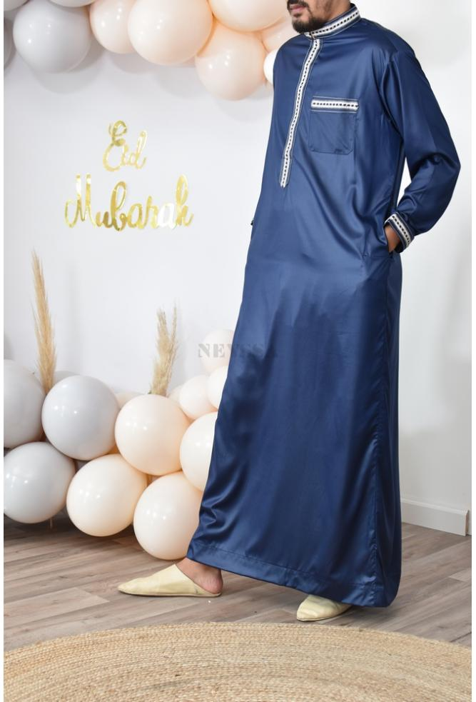Qamis Homme brodé Sulayman