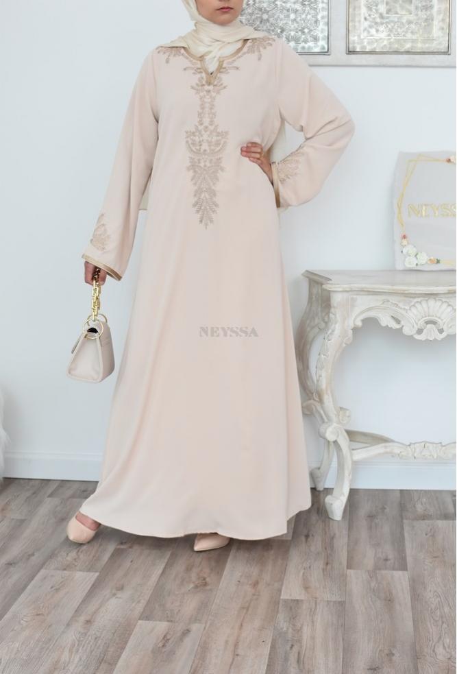 Robe abaya caftan marocain pour l'Aïdr