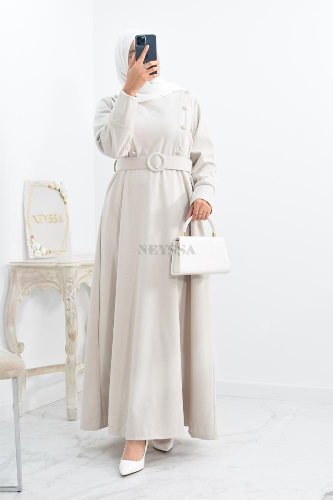 Abaya style djellaba Winter